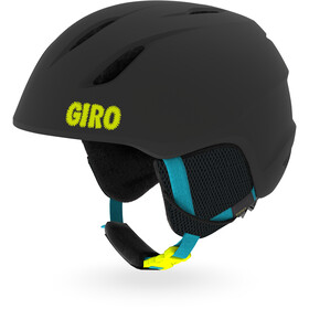 Giro Launch Casco Bambino, matte black sweet tooth